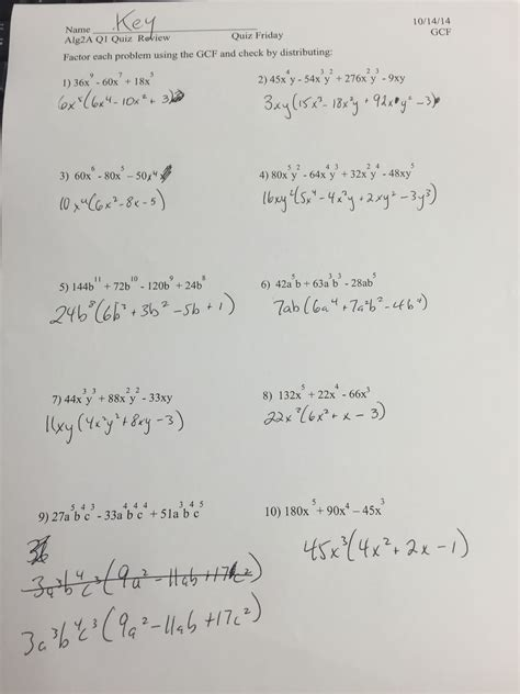 Solving Absolute Value Equations And Inequalities Worksheet Answer Key