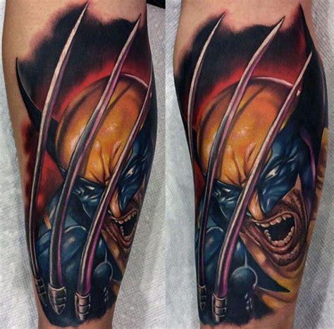 wicked tattoos for men best 25 wolverine ideas on batman