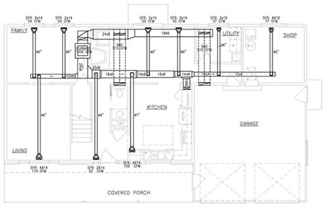 hvac floor plan hvac plans on behance