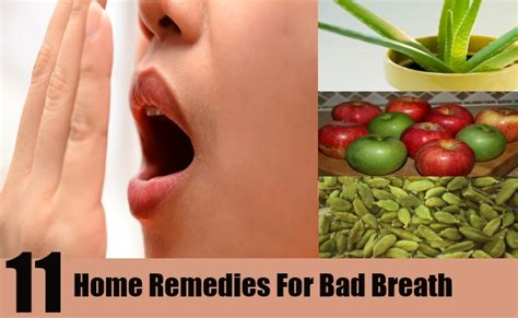 top 11 home remedies for bad breath how to treat bad