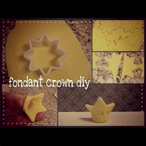 How To Make A Prince Crown Out Of Paper - 1000 ideas about fondant crown on fathers day