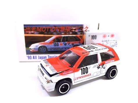 Mainan Die Cast Cars 4 made in japan tomy idemitsu tomica honda civic ef4 racing car 1 58 diecast ebay