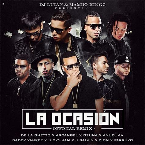 j balvin x remix lyrics ozuna ft de la ghetto arcangel anuel aa daddy yankee