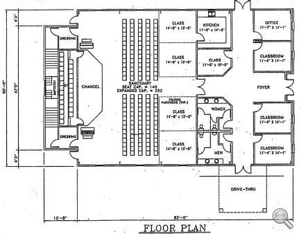 metal church building floor plans church plan 142 lth steel structures
