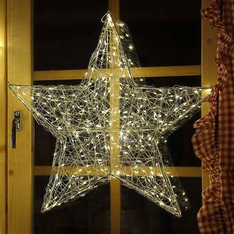 weihnachtsstern beleuchtung weihnachtsstern drahtstern 58 cm