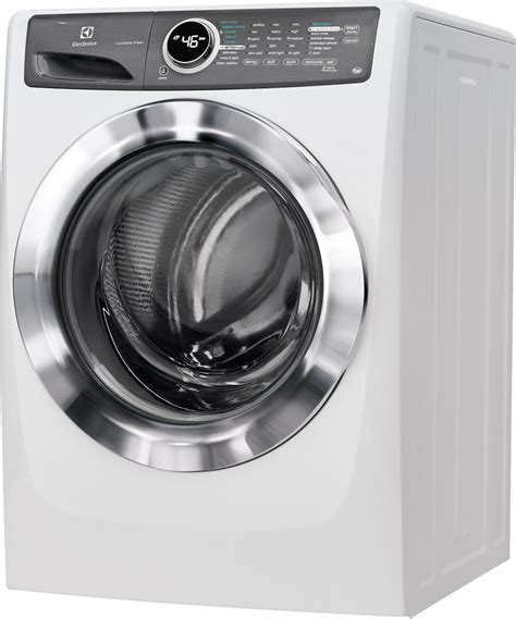 Front Load Washer Reversible Door Electrolux Efls517siw 27 Inch 4 3 Cu Ft Front Load Washer With 9 Wash Cycles Luxcare Wash