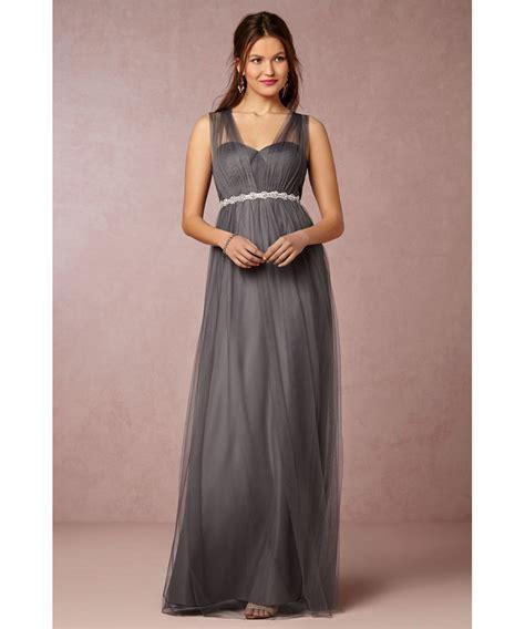 Gray Floor Length Bridesmaid Dresses by Gray Bridesmaid Dresses Aline Floor Length Bridesmaid