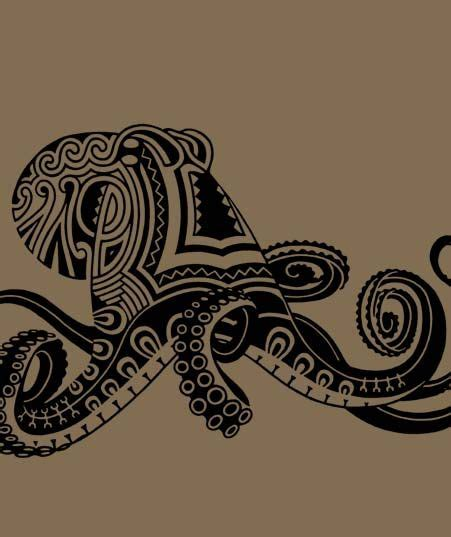 native hawaiian tattoo designs octopus the abstract visual reminds me a bit