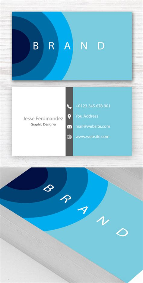 modern busines card templates modern business card psd templates 27 new design design