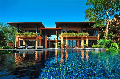 3 bedroom villa phuket three bedroom residence villa sri panwa luxury hotel