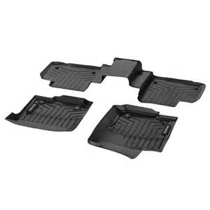 car rubber floor mats mercedes ml class w166 original