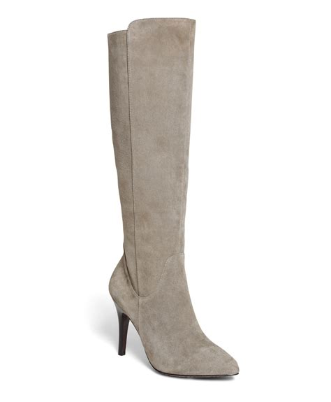 gray boots brothers suede boots in gray lyst