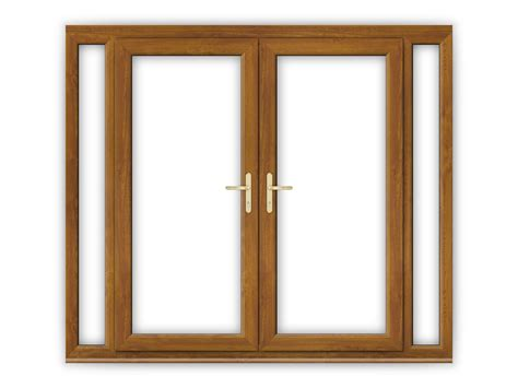 golden oak doors 6ft golden oak upvc french doors with narrow panels