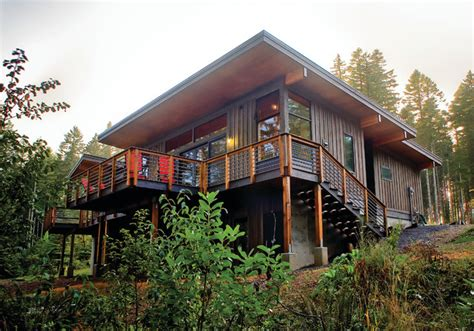 spencer lake cabin modern exterior seattle by