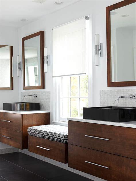 floating bathroom vanity contemporary bathroom bhg