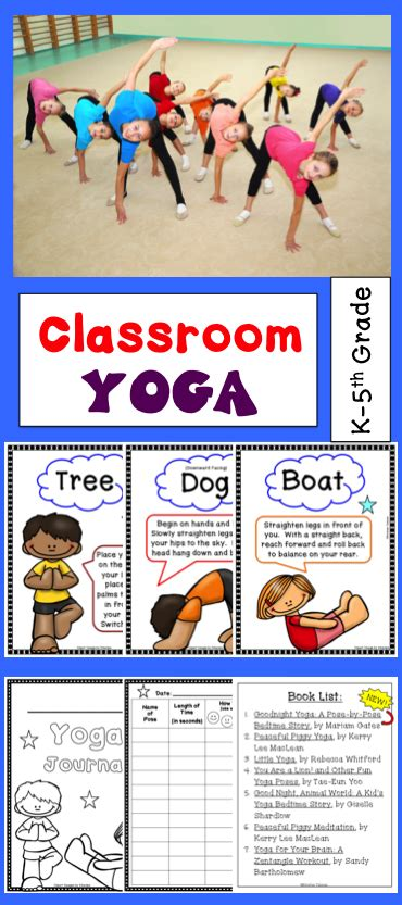 yoga yoga journal books 0789399873 yoga posters and journal for brain breaks classroom routines yoga journal and physical education