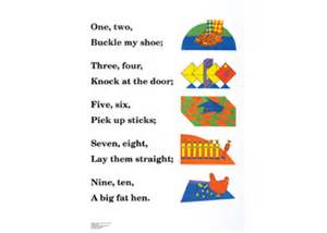 One two buckle my shoe learning media catalogue