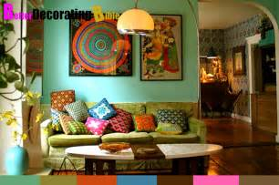 Bohemian Wall Decor by Wall Decorating Ideas Interior Bohemian Decorating Ideas