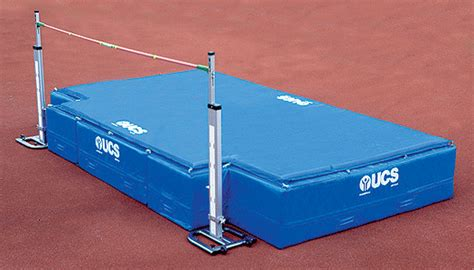 High School Mat Dimensions by Product Ucs High School High Jump Pit
