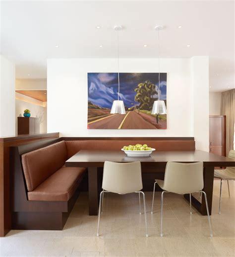 breakfast area modern dining room los angeles by