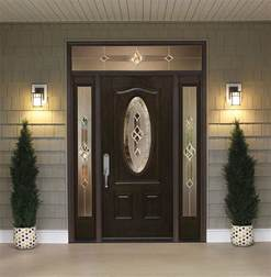 Front Door With Sidelites Front Doors With Sidelights And Transoms Feldco