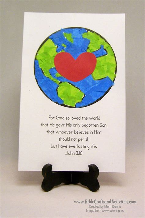 the world crafts for best 25 3 16 ideas on 3 bible