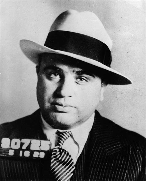 vintage mugshots of the gangster kings that ruled 1920s