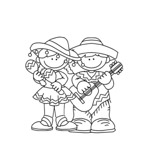 coloring pictures free printable cinco de mayo coloring pages for