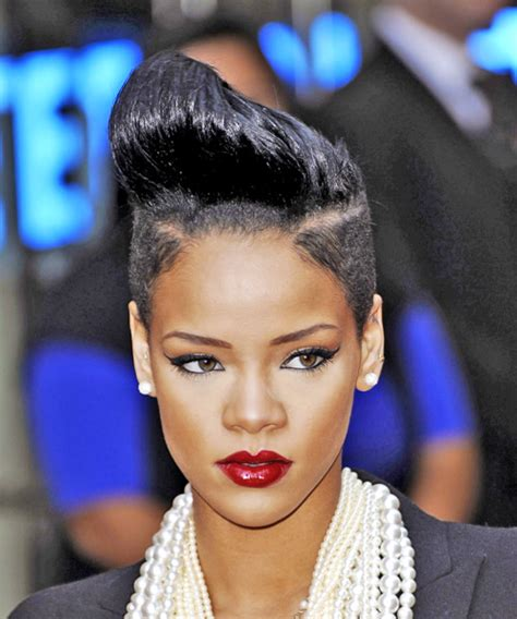rihanna short hairstyles front and back rihanna hairstyles in 2018