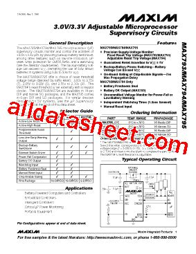 maxim integrated products employee benefits max793s datasheet pdf maxim integrated products
