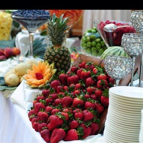wedding fruit table wedding tables