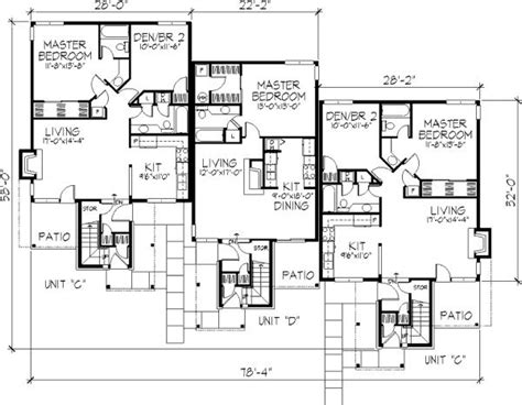 multi unit home plans 100 ideas to try about multi unit plans apartment floor