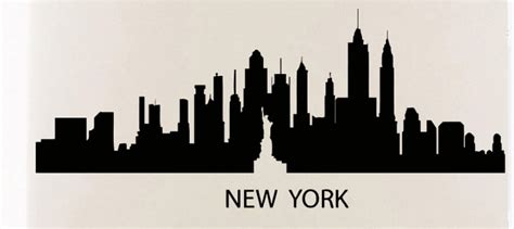 Spiderman Wall Murals aliexpress com buy new york skyline wall sticker new