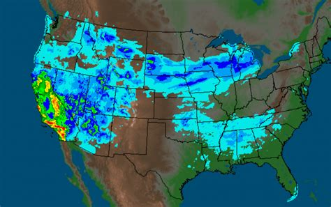 us weather map california california storms dramatic maps show impact of heavy