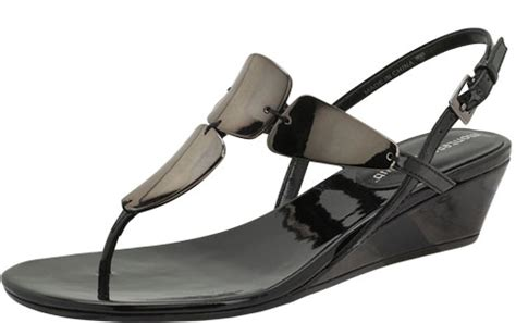 sandals club mobay wednesday win s mork mirrored wedge sandal by
