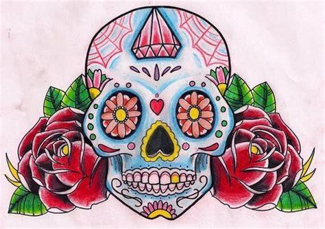 imagenes de calaveras coloridas el origen de los tatuajes de calaveras mexicanas