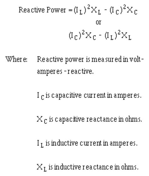 shunt capacitor equation pics for gt what is the formula for power