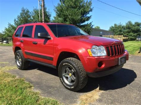 2006 Jeep Grand Fuel Economy Buy Used 2006 Jeep Grand Awd 4 7l Lifted Wheels
