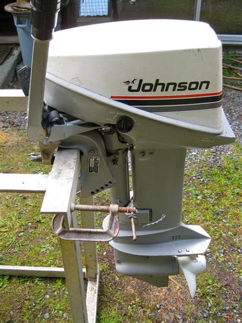 used outboard motors cbell river 15 hp johnson sea horse outboard motor comox cbell river