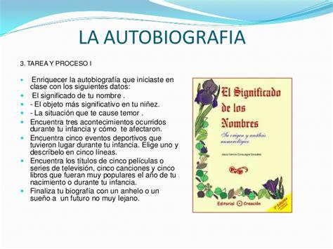 libro 14 la autobiografa la autobiografia