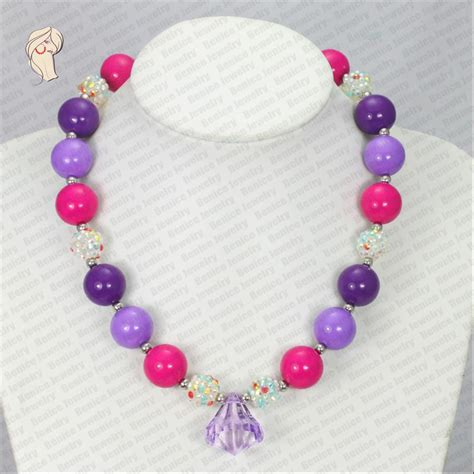 bead necklaces in bulk nc30563 wholesale chunky bead necklace chunky fashion