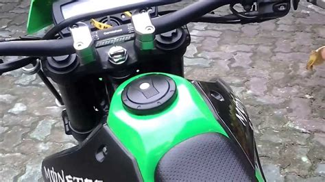 Knalpot Fmf Powercore 4 For Klx 150s 150l 150bf D Tracker 150 my kawasaki d tracker 250cc with fmf powercore4 funnydog tv