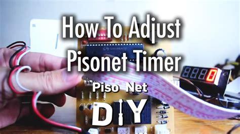 pisonet timer pisonet diy how to adjust pisonet timer howto tutorial