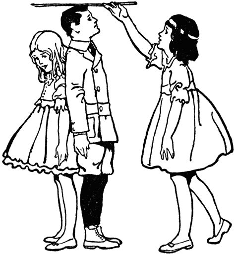 picture height girl measuring heights of children clipart etc