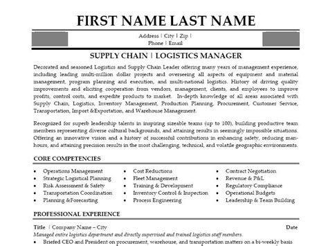 free sle resume for supply chain management click here to this supply chain manager resume template http www resumetemplates101