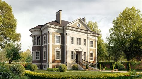 country house cgarchitect professional 3d architectural visualization