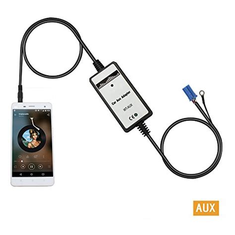 aux interfaceyomikoo car mp player audio input auxillary aux adapter mm interface  vw