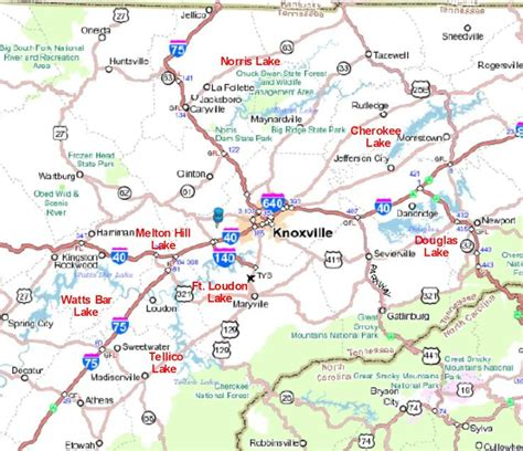east tennessee road map map of east tn pictures to pin on pinsdaddy