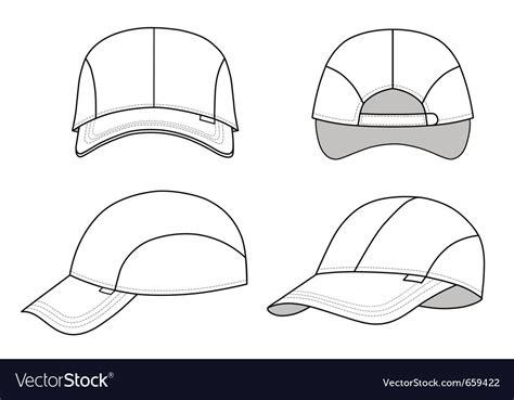 hat template for adobe illustrator baseball cap template