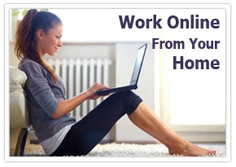 work from home jobs home based jobs - Work Online Part Time From Home